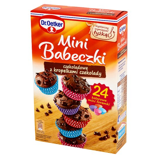 Dr. Oetker Mini Babeczki czekoladowe z kropelkami czekolady