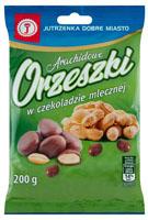 Jutrzenka Dobre Miasto Orzeszki arachidowe w czekoladzie mlecznej