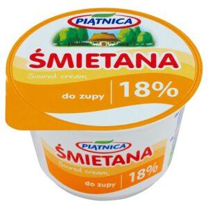 Piątnica Śmietana do zupy 18%