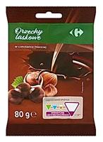 Carrefour Orzechy laskowe w czekoladzie mlecznej