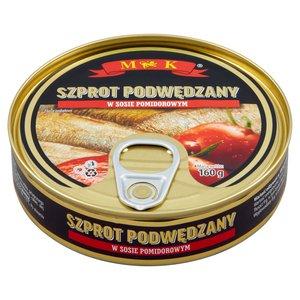 Mk Szprot Podwędzany W Sosie Pomidorowym