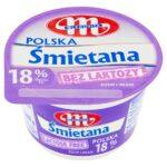 Mlekovita Śmietana Polska bez laktozy 18%