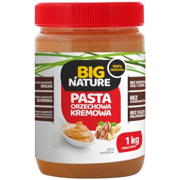 BIG NATURE Pasta orzechowa kremowa