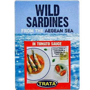 Trata Sardynki W Sosie Pomidorowym
