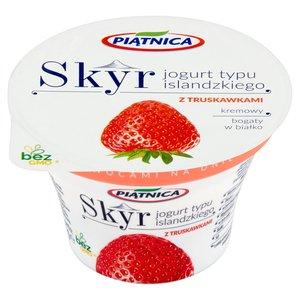 Piątnica Skyr Jogurt Typu Islandzkiego Z Truskawkami