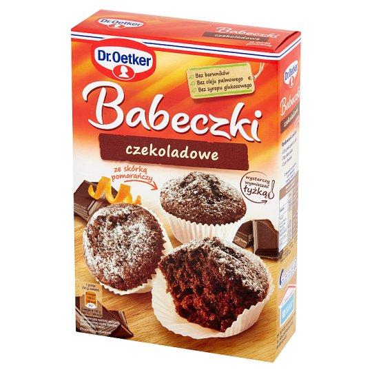 Dr. Oetker Babeczki czekoladowe ze skórką pomarańczy