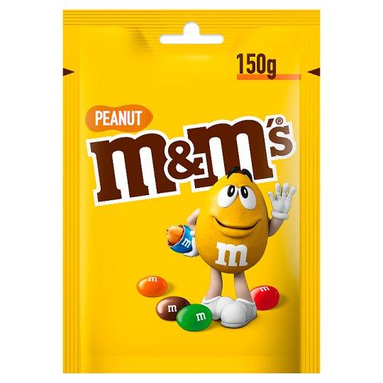 M&M's Peanut Orzeszki ziemne oblane czekoladą w kolorowych skorupkach