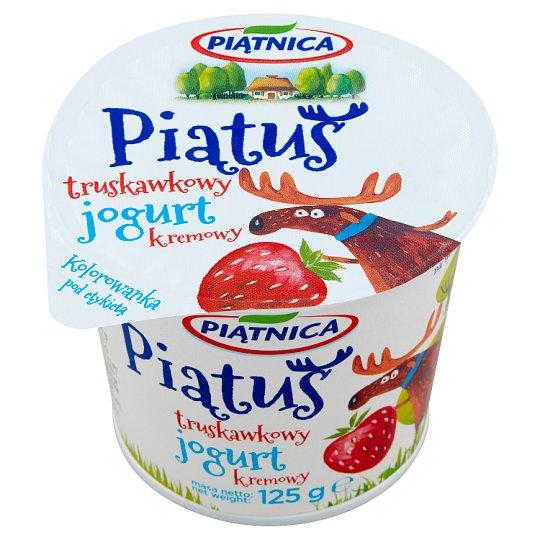 Piątnica Piątuś Jogurt kremowy truskawkowy
