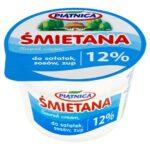 Piątnica Śmietana do sałatek sosów zup 12%
