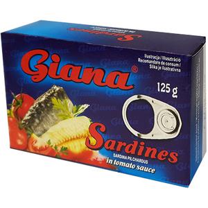Giana Sardynki W Sosie Pomidorowym