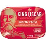 King Oscar Sardynki W Sosie Pomidorowym