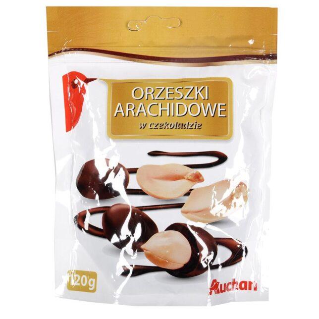 Auchan - Orzech arachidowy w czekoladzie