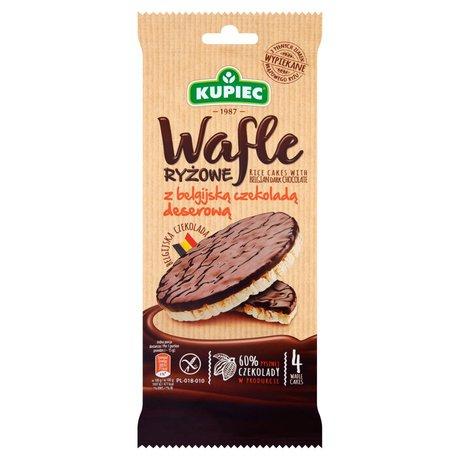 Kupiec - Wafle ryżowe w deserowej czekoladzie