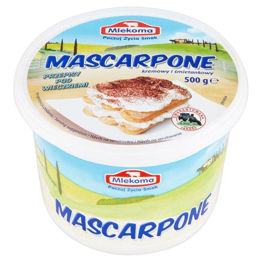 Mlekoma Mascarpone kremowy i śmietankowy