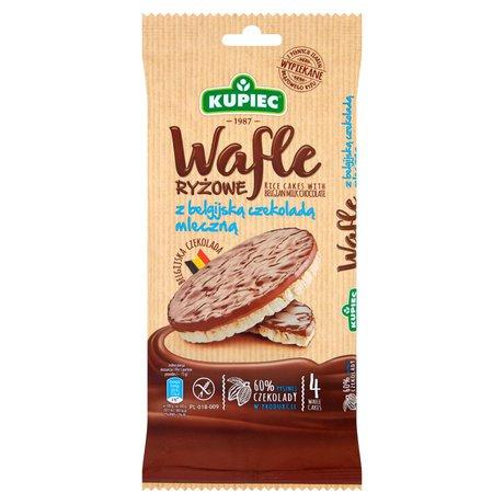 Kupiec - Wafle ryżowe w mlecznej czekoladzie