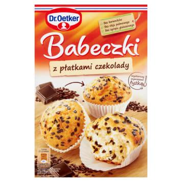 DR. OETKER Babeczki z płatkami czekolady