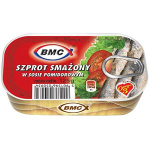 Bmc Szprot Smażony W Sosie Pomidorowym