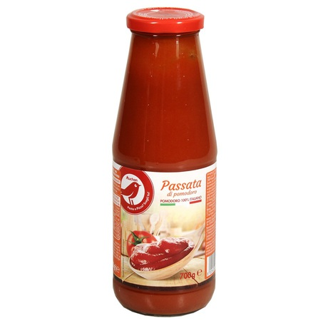 Auchan - Sos pomidorowy - passata di pomodoro classico