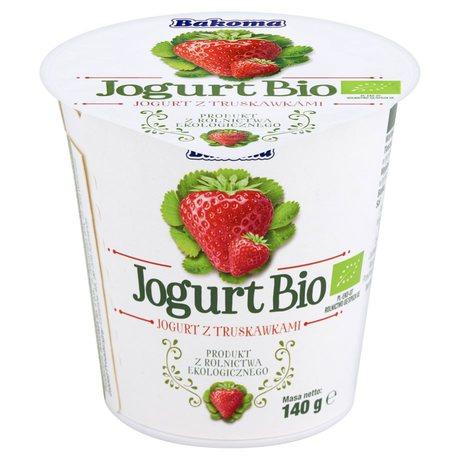 Bakoma - Bio jogurt truskawka