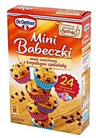 Dr. Oetker Mini Babeczki smak waniliowy z kropelkami czekolady