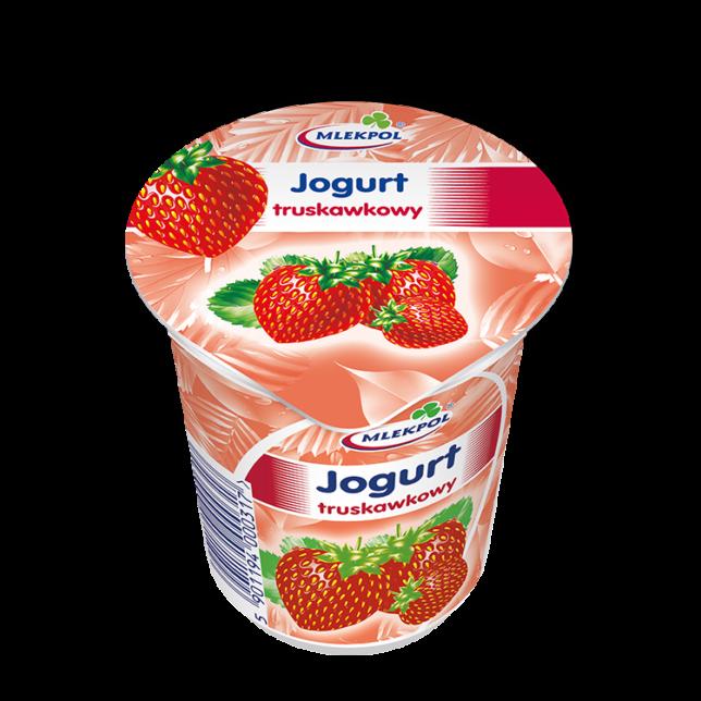 Mlekpol Jogurt truskawkowy
