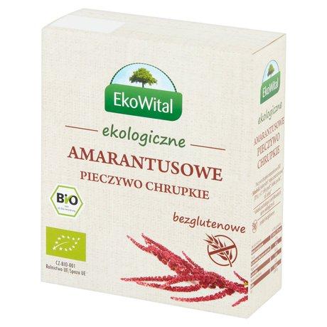 EkoWital - Pieczywo chrupkie amarantusowe bezglutenowe