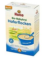 Holle Bio kaszka owsiana dla niemowląt powyżej 4. miesiąca życia
