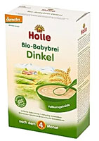 Holle Bio kaszka orkiszowa dla niemowląt powyżej 4. miesiąca życia