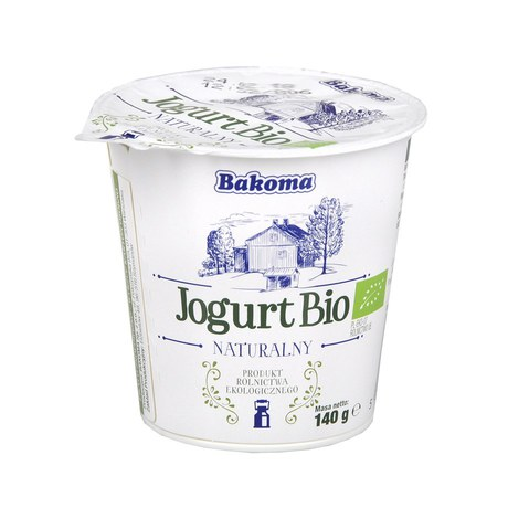 Bakoma - Jogurt BIO naturalny