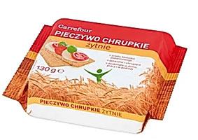 Carrefour Pieczywo chrupkie żytnie
