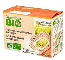 Carrefour Bio Pieczywo chrupkie żytnie