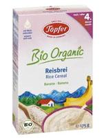 TOPFER Kaszka ryżowa bananowa bezglutenowa po 4 miesiącu BIO