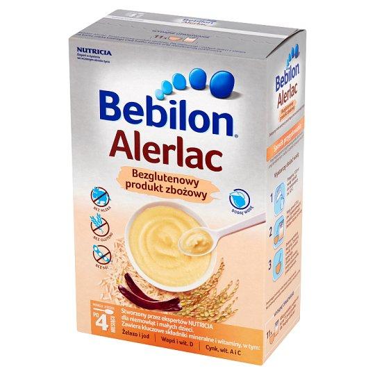 Bebilon Alerlac Bezglutenowy produkt zbożowy po 4 miesiącu