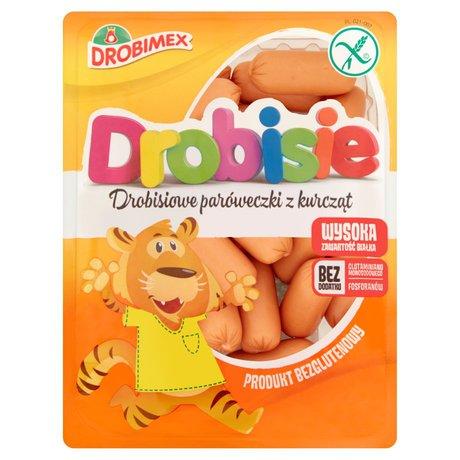 Drobimex - Drobisiowe paróweczki bez glutenu