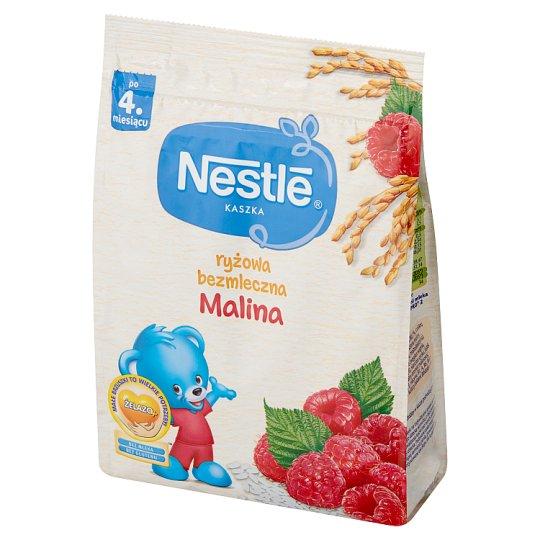 Nestlé Kaszka ryżowa bezmleczna malina po 4. miesiącu