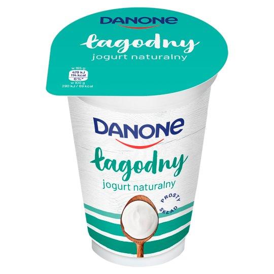 Danone łagodny Jogurt naturalny