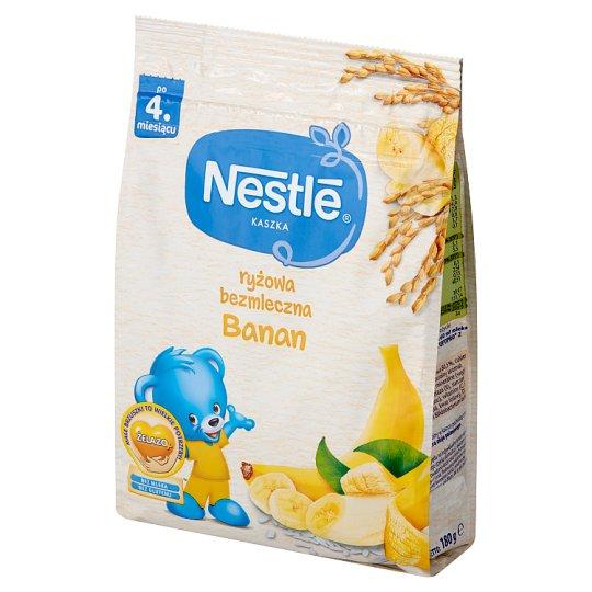 Nestlé Kaszka ryżowa bezmleczna banan po 4. miesiącu