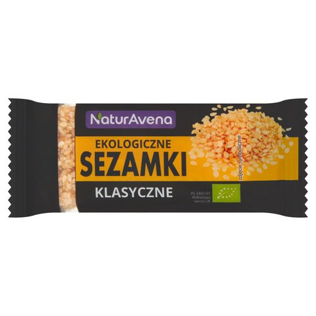 NaturAvena - Sezamki klasyczne bio
