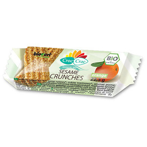 Croc Crac Sezamki Bio Orange