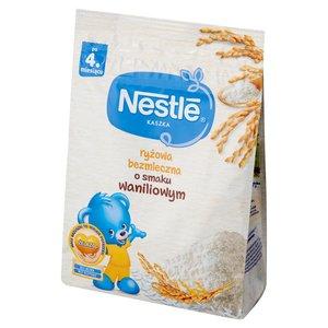 Nestlé Kaszka Ryżowa Bezmleczna O Smaku Waniliowym Po 4. Miesiącu