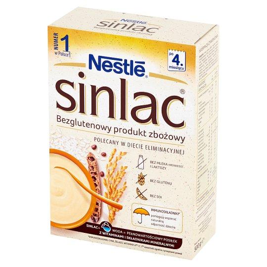 Nestlé Sinlac Bezglutenowy produkt zbożowy po 4. miesiącu