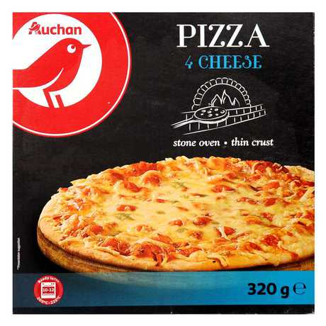 Auchan - Pizza 4 rodzaje sera