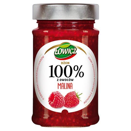 Łowicz Dżem 100% z owoców malina