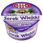 Mlekovita Polski Wiejski bez laktozy Serek twarogowy ziarnisty ze śmietanką
