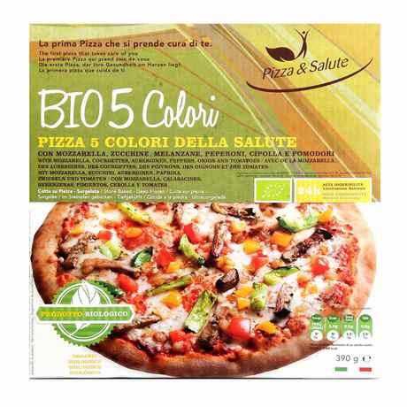 Pizza & Salute - Pizza Bio 5 colori della salute