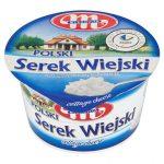 Mlekovita Polski Wiejski Serek twarogowy ziarnisty ze śmietanką