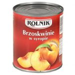 Rolnik - Brzoskwinie połówki w lekkim syropie