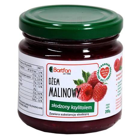BartFan - Dżem malinowy słodzony ksylitolem
