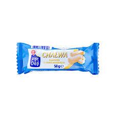 WIODĄCA MARKA P'tit deli Chałwa sezamowa o smaku waniliowym