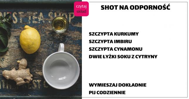 imbir cytryna cynamon